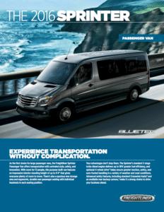 Sprinter Passenger Van PDF link