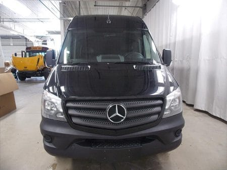 Mercedes Sprinter Van Front View