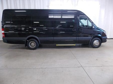 Mercedes Sprinter Van side view
