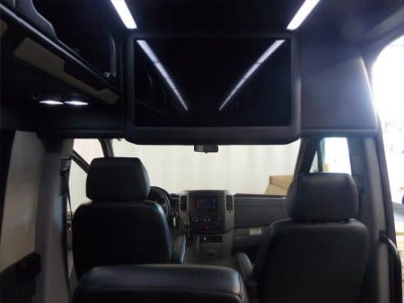Mercedes Sprinter Van front seats