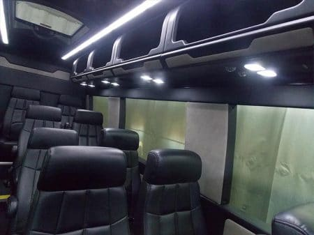 Mercedes Sprinter Van Overhead Storage