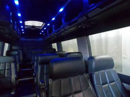 Mercedes Sprinter Van Interior Lights