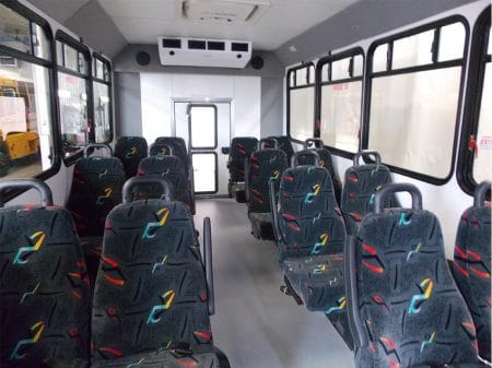 Commercial Bus - 15 passenger seating