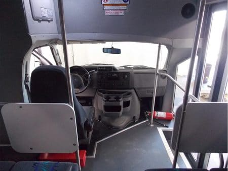 Commerical Bus - 16 passenger plus - dashboard