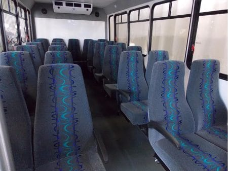Commerical Bus - 16 passenger plus - seating