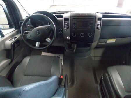 12 Passenger Van dashboard
