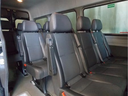 12 Passenger Van seating