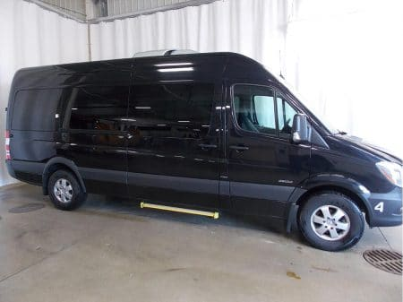12 Passenger Van Side view