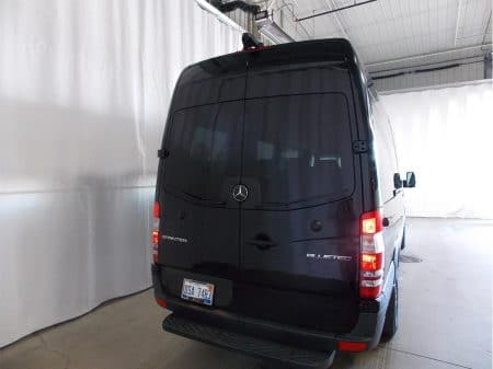12 Passenger Van Rear View