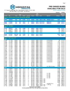 Pre-Owned School Bus Inventory PDF link